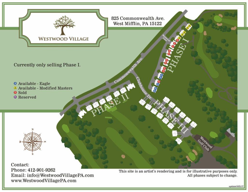 Westwood Village PA - Sitemap