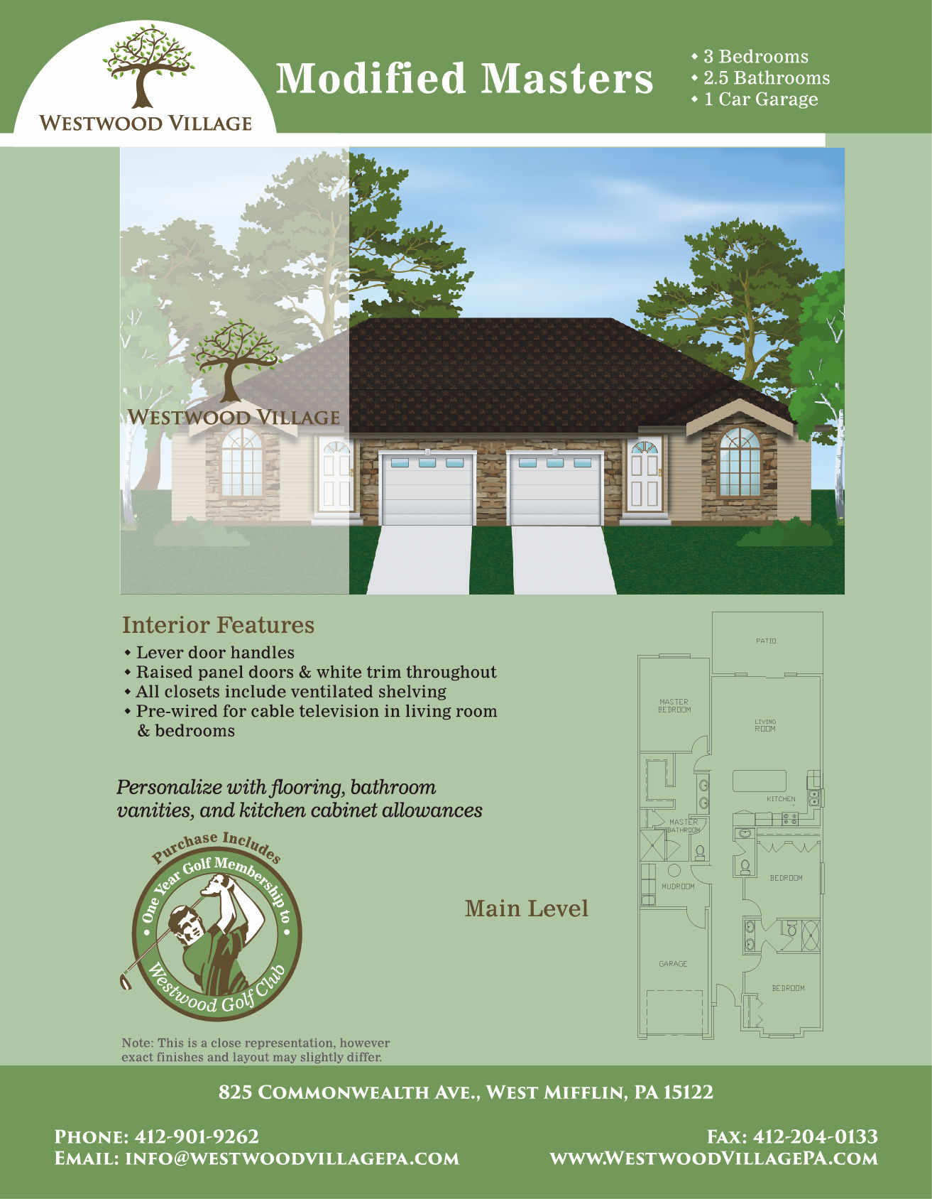 Modified Masters Floorplan